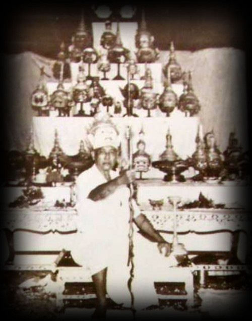 Ajarn Hram Intarat - the Father of all Kroo Krob Siarn of the Thai Classical Dance Arts