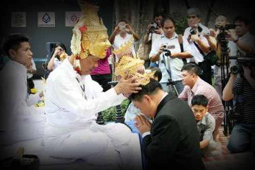 Lersi Mask Blessing of the Thai Traditional Dance Theater Profession