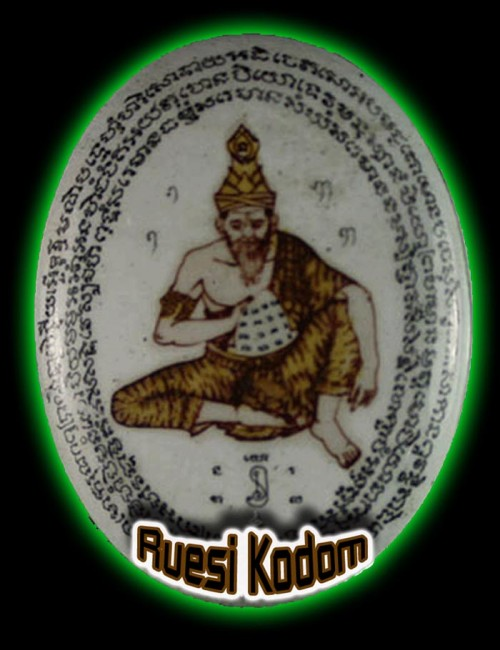 Ruesi Kodom Thai Locket Amulet
