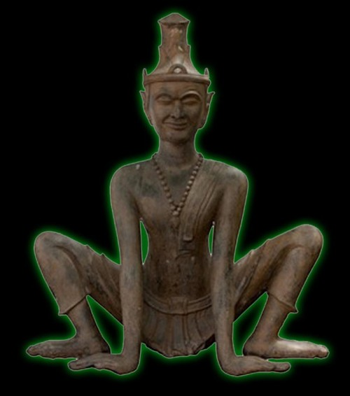 Thai Ruesi in Yogic Pose (Tat Ton)