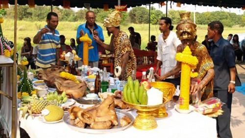 Wai kroo Ceremony of Lersi Ta Wua